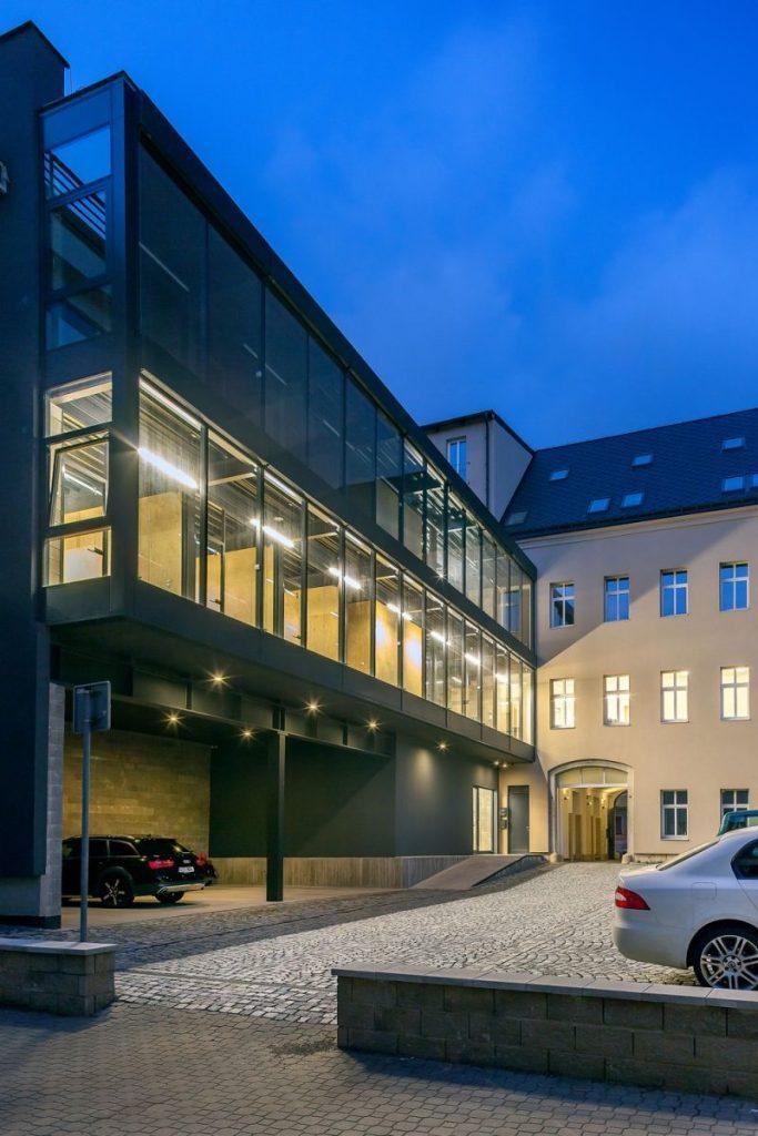 Rekonstrukce Dům U Páva Liberec 2014